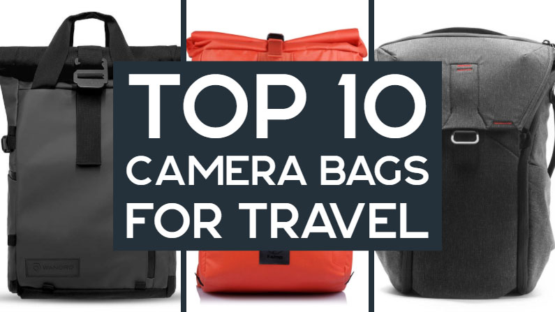 10 Best DSLR & Mirrorless Camera Bags for Travel