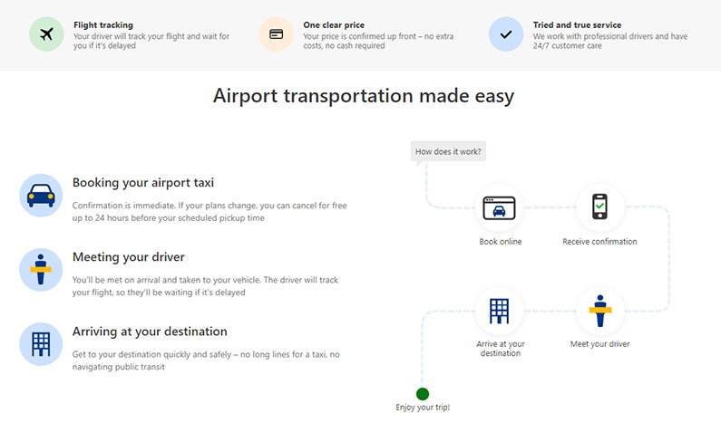 Booking.com Airport Taxis